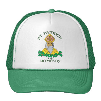 St. Patrick Is My Homeboy Mesh Hat