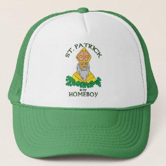 St. Patrick Is My Homeboy Trucker Hat