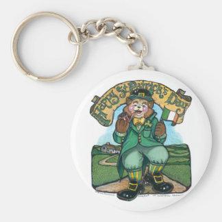 St Patrick Key Chain