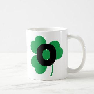 St Patrick Letter O Alphabet Coffee Mug