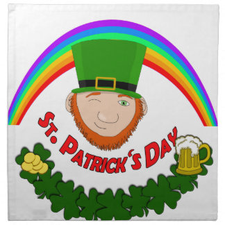 St. Patrick Napkin