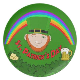 St. Patrick Party Plates