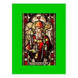 St. Patrick Patron Saint of Ireland Postcard