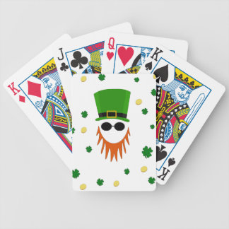 St. Patrick pattern Bicycle Playing Cards