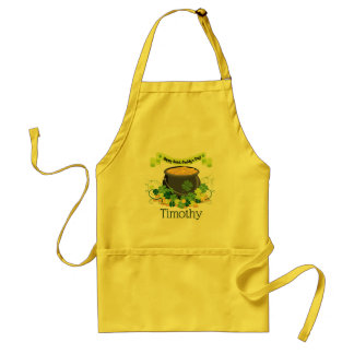 St Patrick Pot of Gold Standard Apron