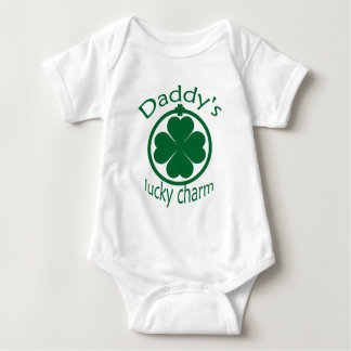 St Patrick's Daddys Lucky Charm Infant Creeper
