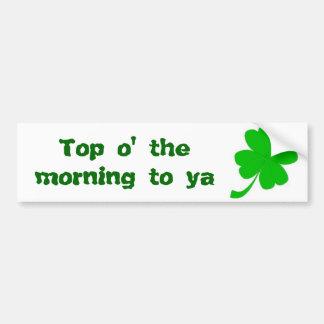 St Patrick s Day Bumper Stickers