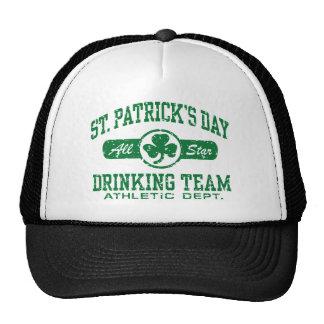 St Patrick s Day Drinking Team Trucker Hats