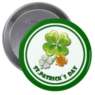 St Patrick s Day Gift Buttons Pin