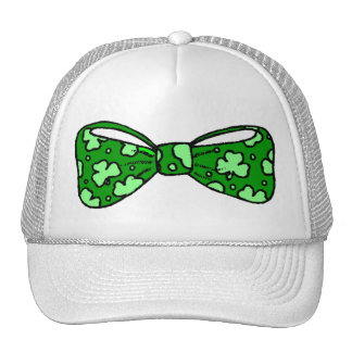 St. Patrick's Day Green Bow Tie Hat