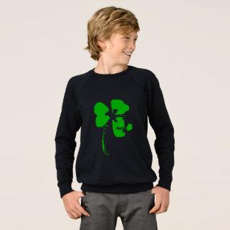 St. Patrick's Day Green Clover - Boy shirt