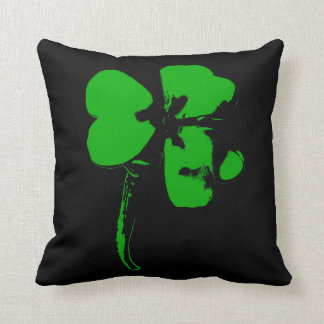 St. Patrick's Day Green Clover - Pillow