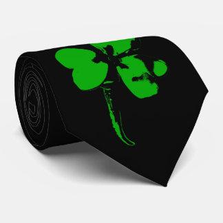 St. Patrick's Day Green Clover - Tie