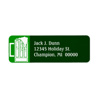 St Patrick s Day Green Party Beer Address Labels