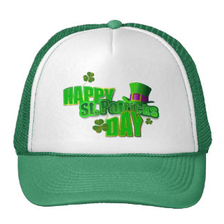St Patrick s Day Mesh Hat