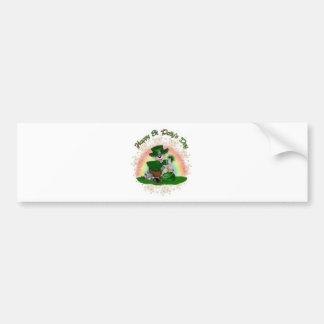 St Patrick s Day Mouse Bumper Sticker