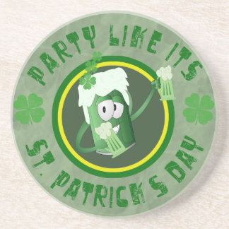 St Patrick s Day Party Coaster