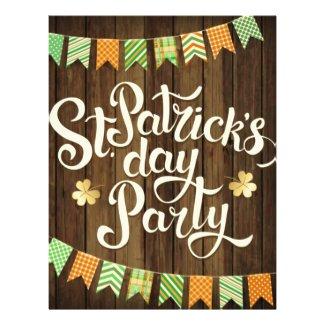 St. Patrick's Day Party Event Flyer