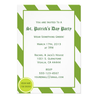St Patrick s Day Party Invitation