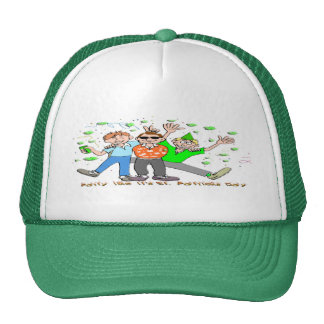 St Patrick s Day Party Mesh Hats