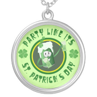 St Patrick s Day Party Necklace