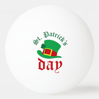 St.Patrick's day Ping Pong Ball