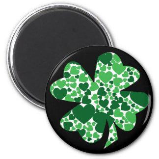 St. Patrick's Day Shamrock Clover Magnet