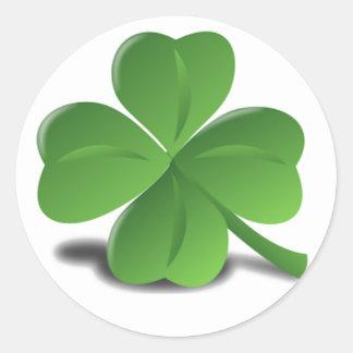 St. Patrick's Day Shamrock Clover Sticker