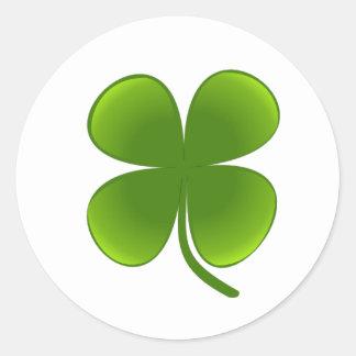 St Patrick's Day - Shamrock Stickers