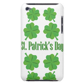 St. Patrick's Day with clover Barely There iPod Covers