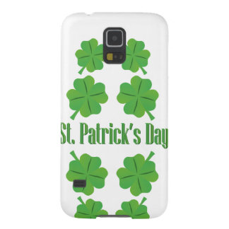 St. Patrick's Day with clover Cases For Galaxy S5