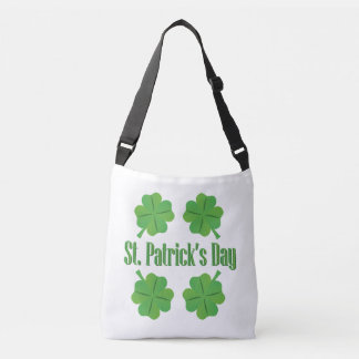 St. Patrick's Day with clover Crossbody Bag