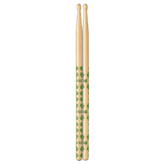 St. Patrick's Day with clover Drumsticks
