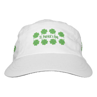 St. Patrick's Day with clover Hat