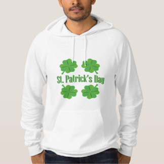 St. Patrick's Day with clover Hoodie