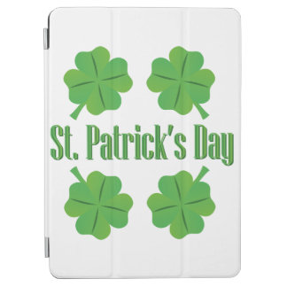 St. Patrick's Day with clover iPad Air Cover