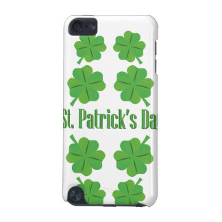 St. Patrick's Day with clover iPod Touch (5th Generation) Covers
