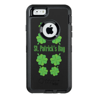 St. Patrick's Day with clover OtterBox iPhone 6/6s Case