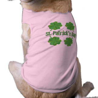 St. Patrick's Day with clover Shirt