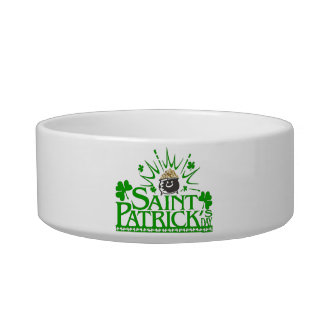 St. Patrick's Gold Pot Pet Bowl