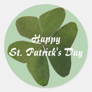 St. Patrick Shamrock Sticker