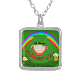 St. Patrick Silver Plated Necklace