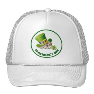 St Patrick ss Day Mesh Hat
