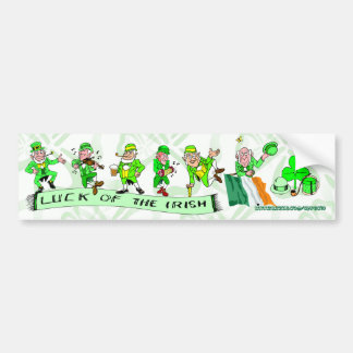 St.Patrick's Bumper Sticker