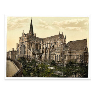 St. Patrick's Cathedral. Dublin. Co. Dublin, Irela Postcard