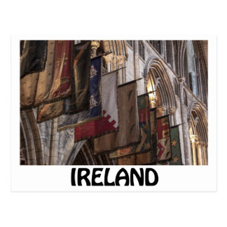 St. Patrick's Cathedral, Dublin, Ireland. Postcard