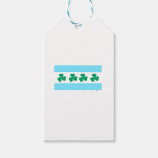 St Patrick's Chicago Dye the River Green Pack Of Gift Tags