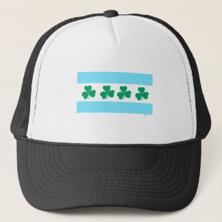 St Patrick's Chicago Dye the River Green Trucker Hat