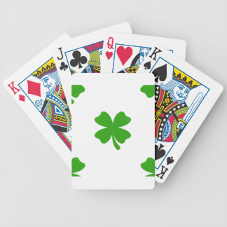 st patricks clover emoji bicycle playing cards