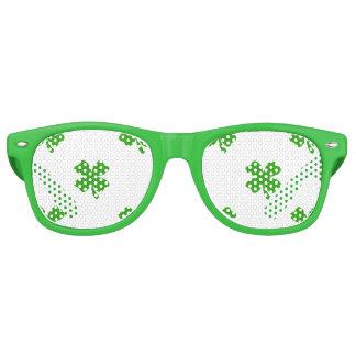 st patricks clover emoji party sunglasses